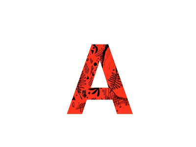 A type experiments typography letter