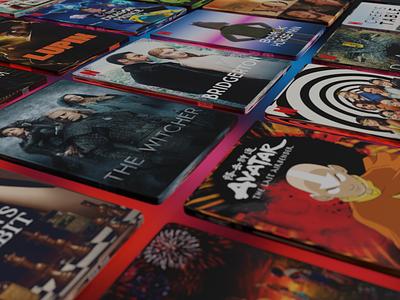 Netflix TV Shows and Movies movies movie poster poster art blender3d blender 3d