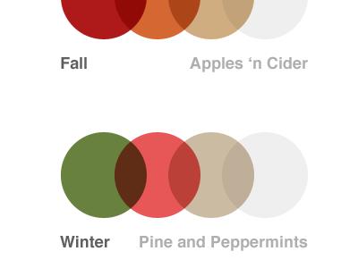 Seasonal Color Schemes color scheme