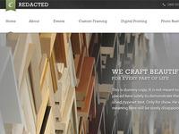 Frame website