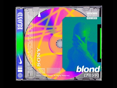Blond Cover Concept Design