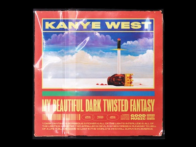 My Beautiful Dark Twisted Fantasy Cover Concept