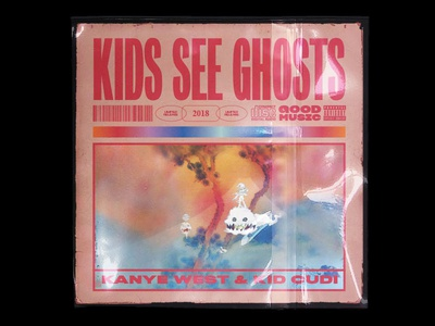 Kids See Ghosts Cover Concept