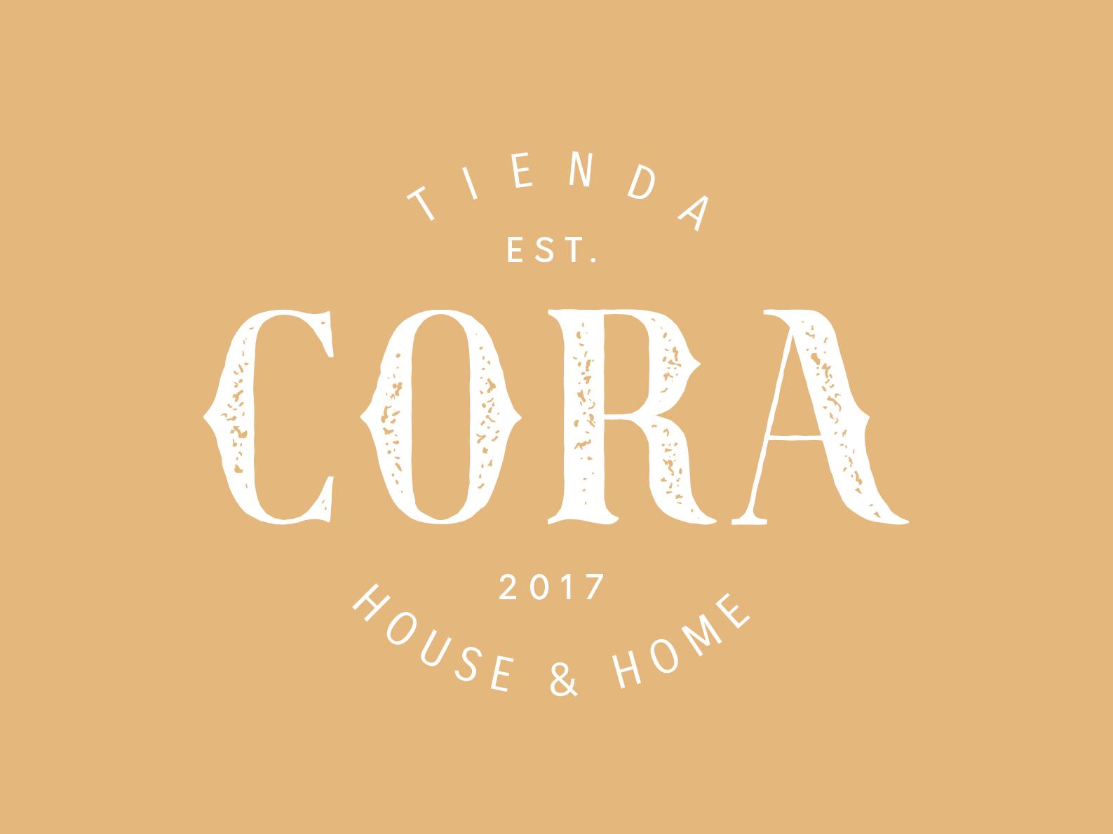 Cora design texture typography graphicdesign work mark logo branding brand cora home house