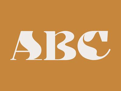ABC alphabet abc letters illustrator vector design typography flat 36 days of type