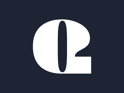 Q design vector illustrator text type typography q letter 36 days of type