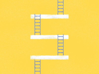 E is for escaleras letter yellow stairs vector design texture flat illustrator illustration type typography 36 days of type