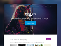 Station homepage templates