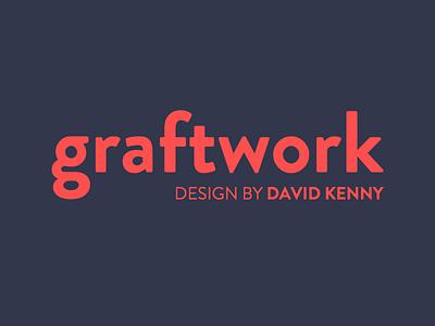 New colours graftwork grotesque brandon logo blue red