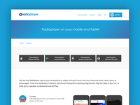 Radioplayer product page