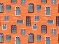 Seamless pattern background of wall