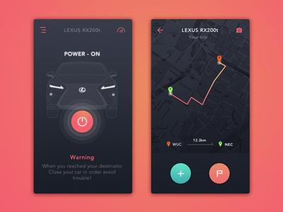 #Car Control#Daily UI