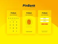 Login Page - Banking App