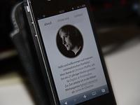 Mobile Portfolio - About