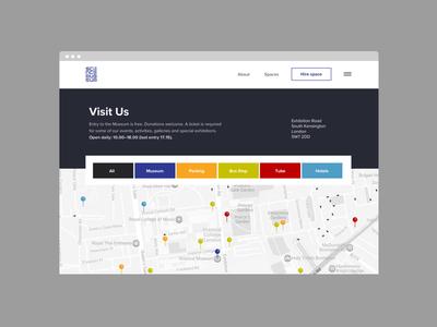 User-centric map website responsive mobile userinterface uidesign uiux uxdesign portfolio webdesign