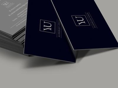 YU, Alderley Edge bizcards restaurant luxury mockup design branding print business cards