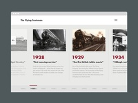 Flying Scotsman Timeline