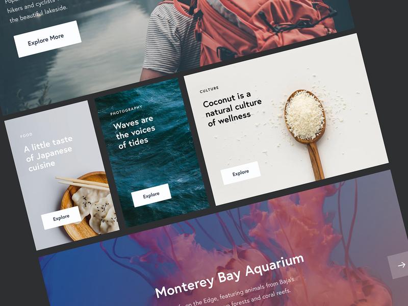 UI Kit typography photography ux design ui userinterface responsive minimal website uxdesign uiux webdesign portfolio uidesign uikits uikit