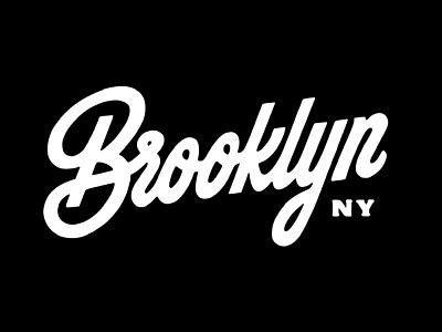 Brooklyn Lettering script type typography handlettering lettering
