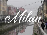 Milan Script Calligraphy