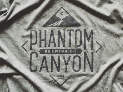 Phantom Canyon Brewery Tee