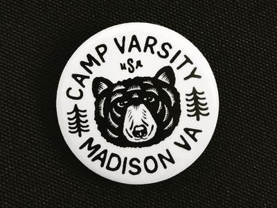 Camp Varsity Button
