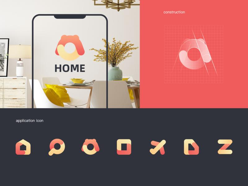 icon ui design app icon design house logo home app