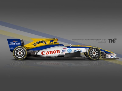 F1 2017 Williams Renault Classic Livery