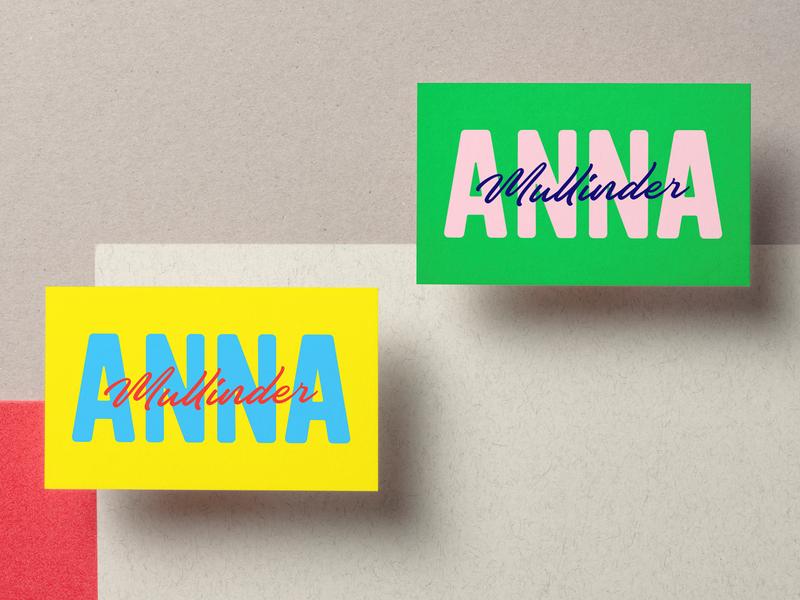 Anna Mullinder logo bath startup brand graphic design colour identity design bristol branding