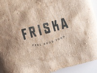 Friska (Update) bath startup uk graphic design colour logo identity design bristol branding