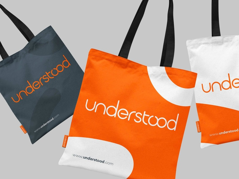 Understood brand startup graphic design art direction colour logo identity design bristol branding