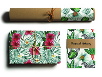 Tropical Botany branding packaging paper craft