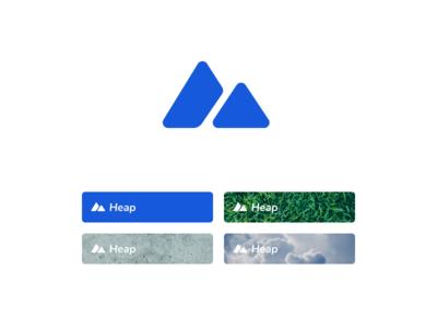 Heap logodesign logotype branding collection heap logo