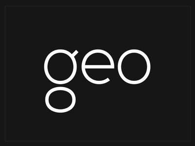 Geometric Font Idea