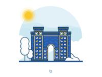 Iraq Landmarks: Ishtar Gate