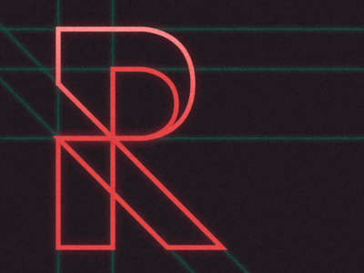 36DaysOfType — R typography type