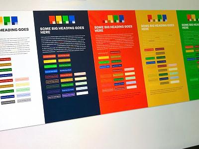 Color Schemes palette color