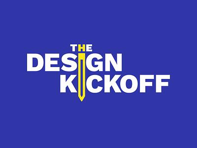 The Design Kickoff Logo Variant 102 ringside branding design logo