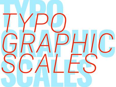 Workshop on Typographic Scale workshop slideshow presentation slides typography