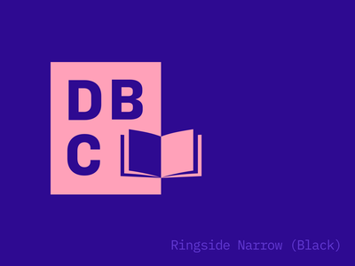 Design Book Club logo experiments book club typogaphy logo