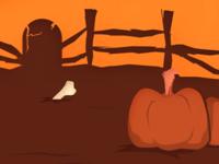 Halloween scene v2