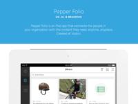Portfolio case study - Folio