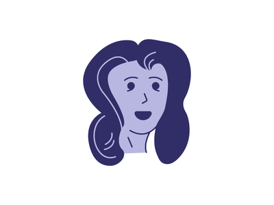 Character study 01 woman vector organic illustration girl doodle character-study character