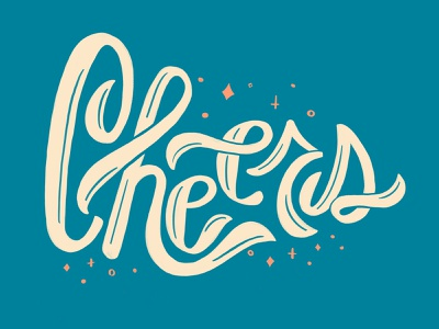 Cheers procreate art design procreatelettering ipadproart licensing celebrate cheers digital typography type handlettering lettering procreate