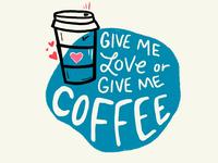 Coffee IS love