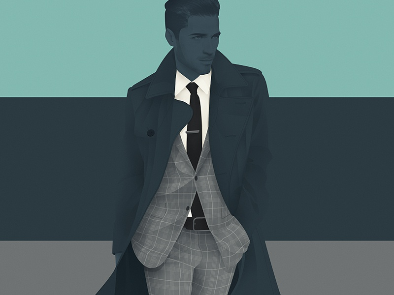 Lee for Mr Hyde illustration design menswear fashion