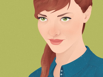 Blue and Green illustration