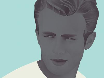 James Dean illustration