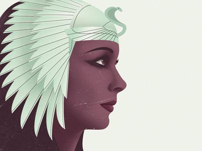 Cleopatra cleopatra egypt pharaoh editorial digital headdress