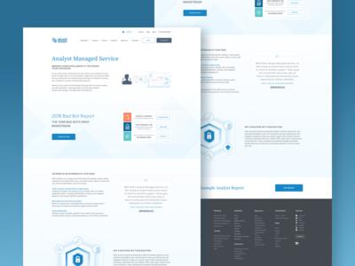 AMS Web Page Design